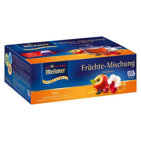 Meßmer ProfiLine Früchte 100 x 1,75g Tassenportion | CaterPoint.de