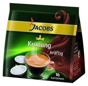 Jacobs Krönung Kaffeepads kräftig 16 x 1 Stück