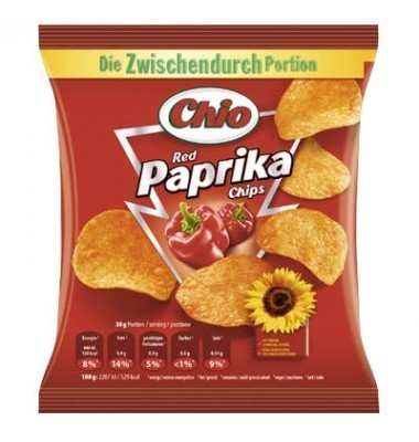 Chio Chips Red Paprika 30 x 30g
