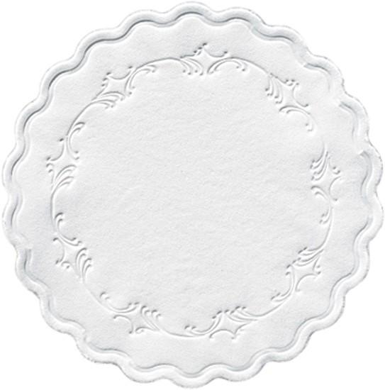 Duni Tassendeckchen weiß - 250 Stück