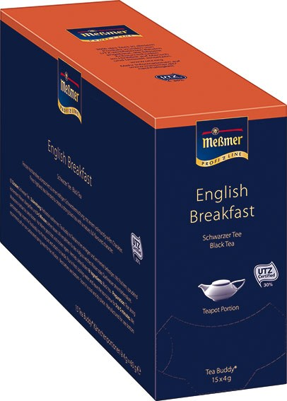 Meßmer Tea Buddy English Breakfast 15 x 4g | CaterPoint.de