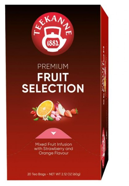 Teekanne Gastro Premium Fruit Selection 20 x 3,0g | CaterPoint.de