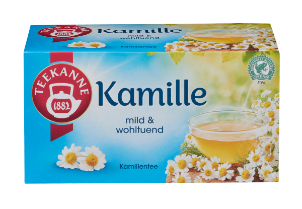 Teekanne Kamille 20 x 1,5g Tassenportion | CaterPoint.de