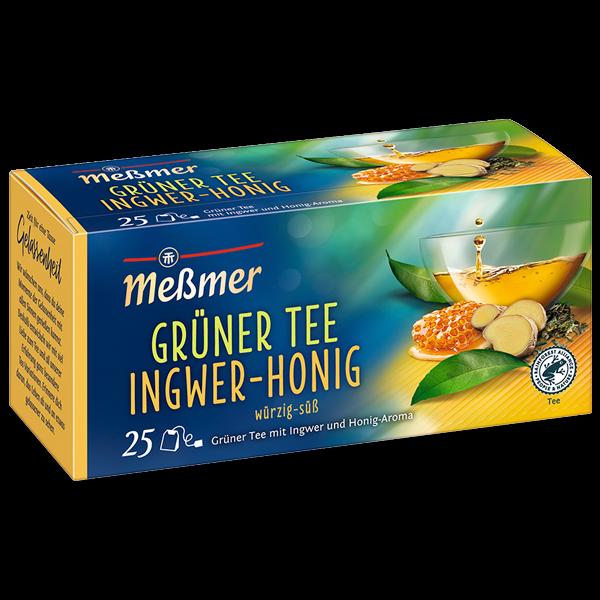 Meßmer Grüner Tee Ingwer-Honig 25 x 1.75g | CaterPoint.de