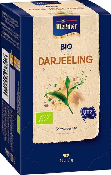 MEßMER ProfiLine Bio Darjeeling 18x1,50g    CaterPoint.de