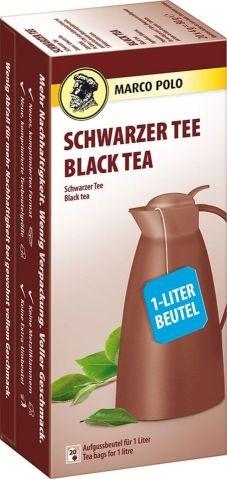 MARCO POLO Schwarzer Tee 20x4,00g (1-Liter) | CaterPoint.de