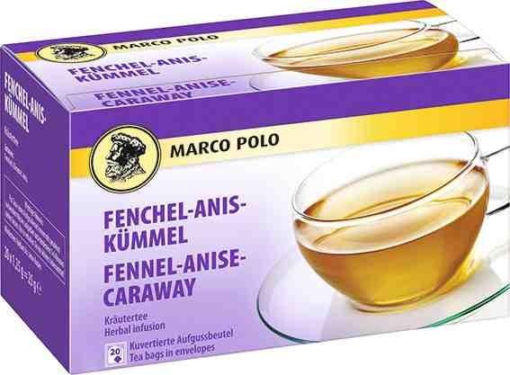 MARCO POLO Fenchel-Anis-Kümmel Tee 20 x 1,25g Tassenportion | CaterPoint.de