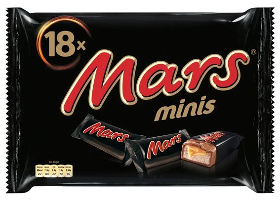 Mars Miniriegel 333g
