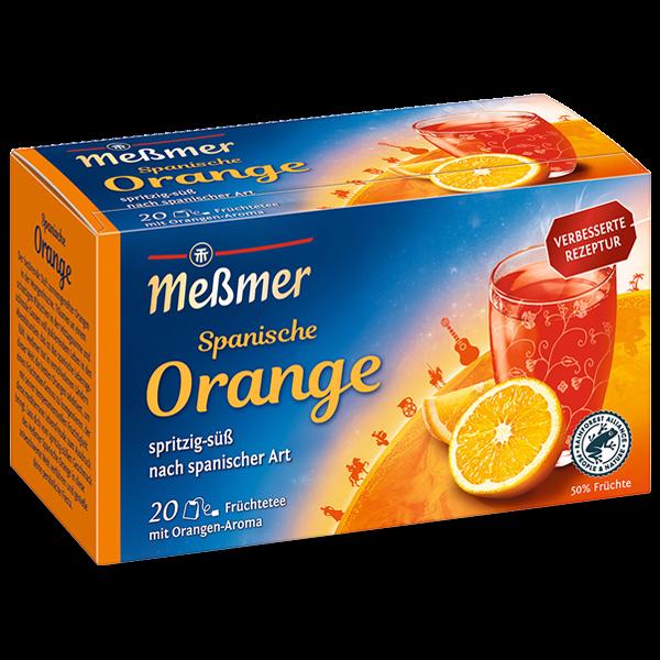 Meßmer Spanische FIESTA Orange-Aprikose 20 x 2,5g Tassenportion