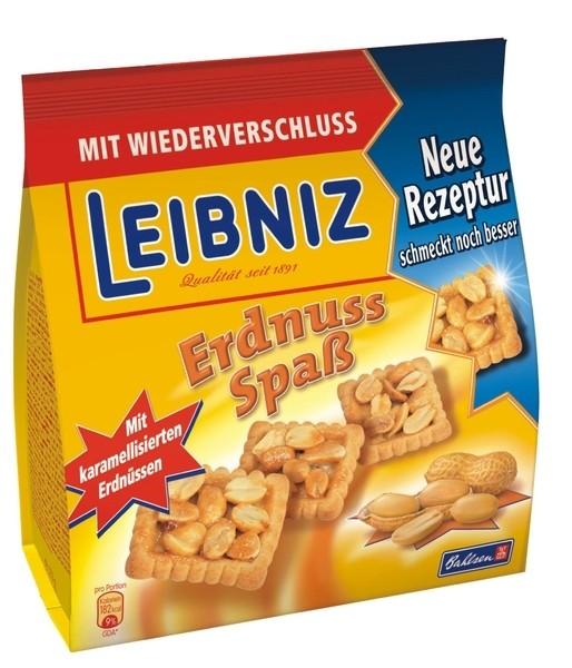 Leibniz Erdnuss Spaß 175g Beutel