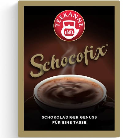 Teekanne Schocofix 50 x 25g Tassenportion | CaterPoint.de