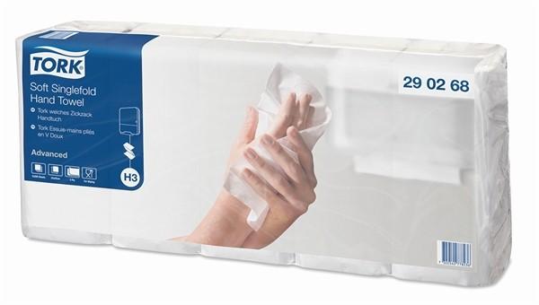 Tork Advanced Handtuch weiß,29 02 68, H3, 5 x 200 Blatt
