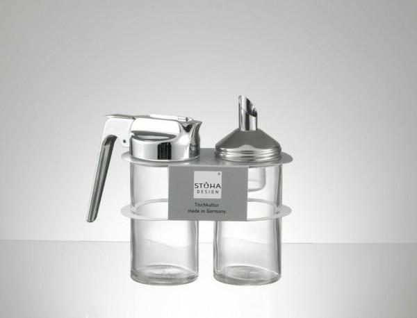 STOHA Milch & Zucker Set Zylindrisch je 185ml