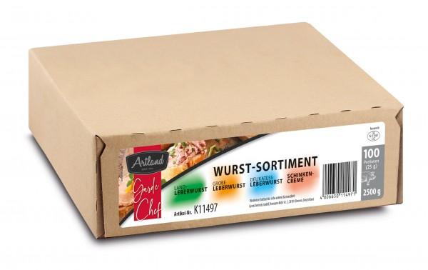 Artland Wurst Sortiment 100 x 25g | CaterPoint.de