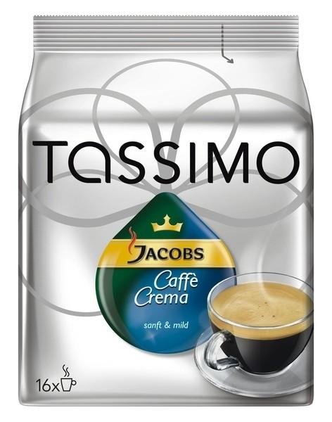 5 x Jacobs Tassimo Caffe Crema 16 x 1 Stück