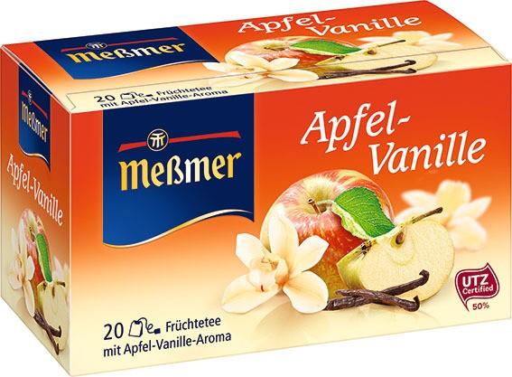 Meßmer Apfel-Vanille 20 x 2,75g Tassenportion