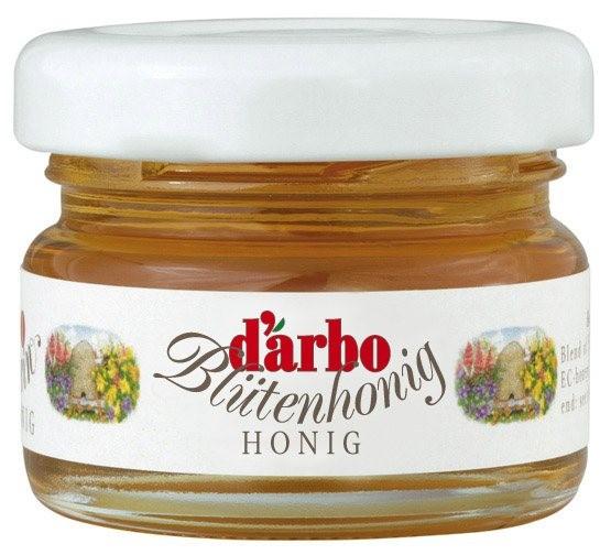 Darbo Blütenhonig 60 Minigläser à 28g | CaterPoint.de
