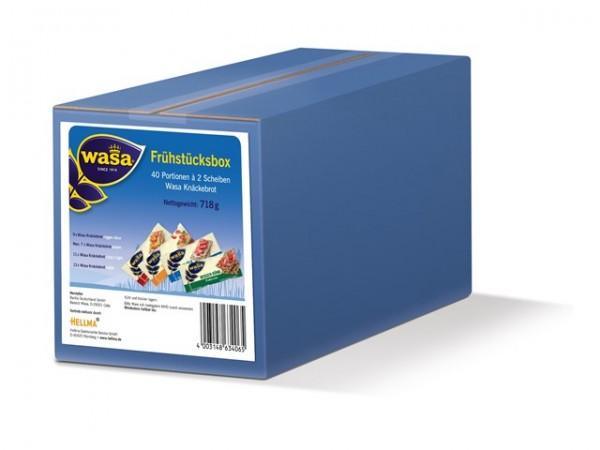 Wasa Frühstücksbox 40 Portion a 2 Stück   CaterPoint.de
