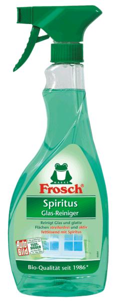 FROSCH Spiritus Glas-Reiniger 500ml Sprühflasche