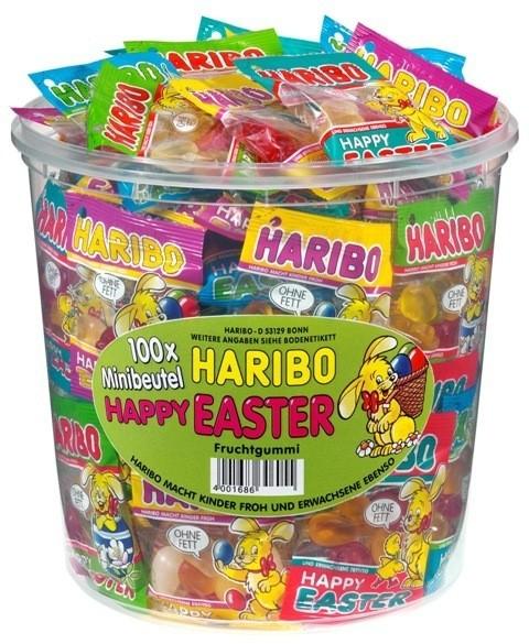 Haribo Happy Easter Minibeutel 100er   CaterPoint.de