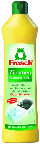 FROSCH Zitronen Scheuermilch 500ml