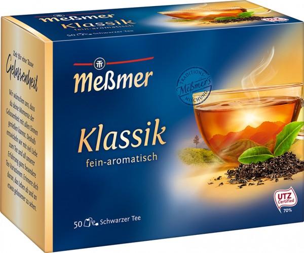 Meßmer Klassik Tee 50 x 1,75g Tassenportion | CaterPoint.de