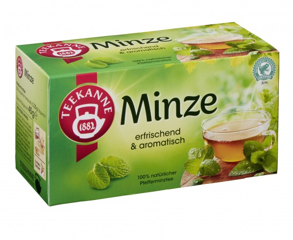 Teekanne Minze 20 x 2,25g Tassenportion | CaterPoint.de