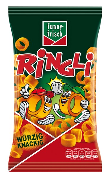 funny-frisch Ringli 75g  | CaterPoint.de