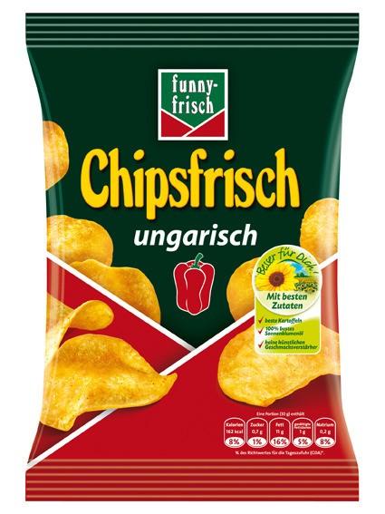 funny-frisch Chipsfrisch ungarisch 30 x 30g