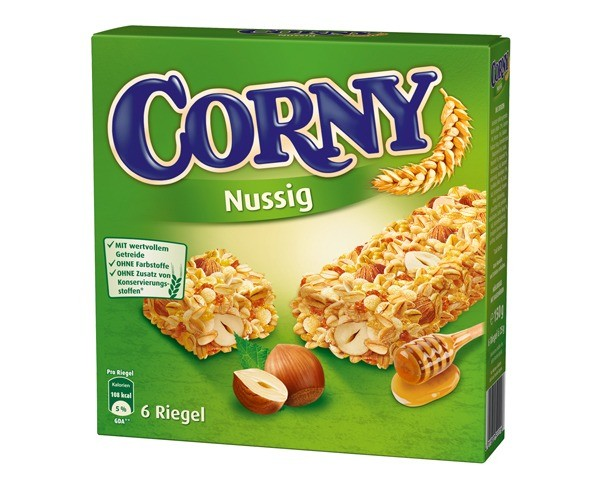 Corny Nussig 6 Stück = 150g