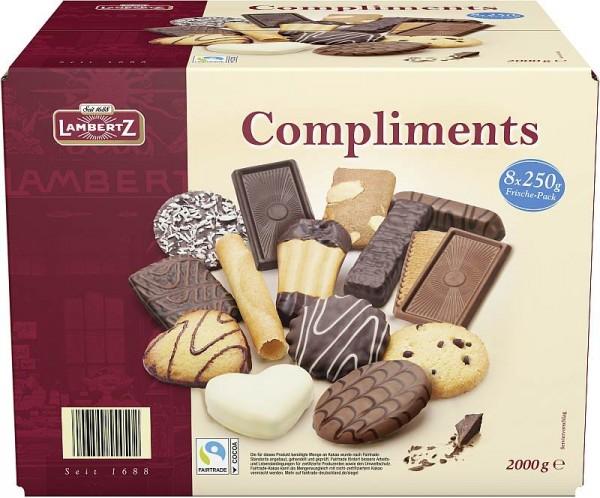 Lambertz Compliments Gebäckmischung 2000g | CaterPoint.de