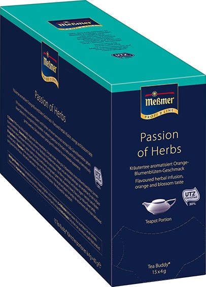 "Meßmer ""Tea Buddy"" Passion of Herbs 15 x 4g 
