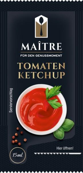 Maitre Tomatenketchup  100 Stück à 15ml | CaterPoint.de
