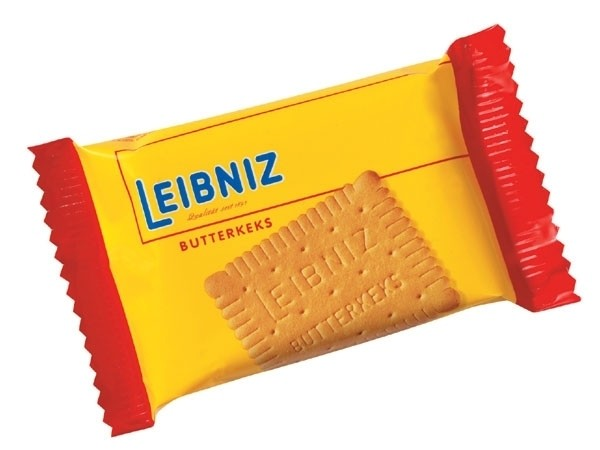 Leibniz Butterkeks 96 x 3 Kekse- Portionspackung | CaterPoint.de