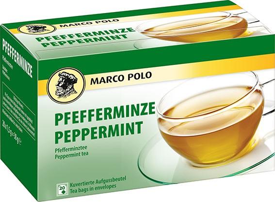 MARCO POLO Pfeferminze 20 x 1,5g Tassenportion | CaterPoint.de