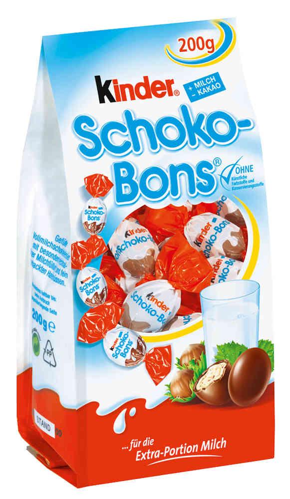 Kinder Schoko Bons Zutaten