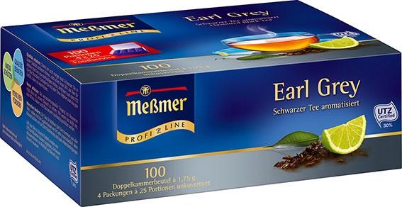 Meßmer ProfiLine Earl Grey Tee 100 x 1,75g Tassenportion | CaterPoint.de