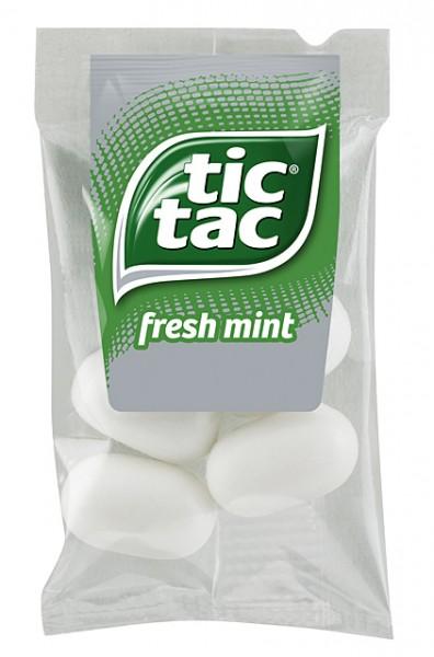 Tic Tac Fresh Mints 100 Minibeutel à 4 Stück