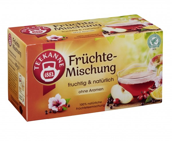 Teekanne Früchte Genuss 20 x 3,0g Tassenportion | CaterPoint.de