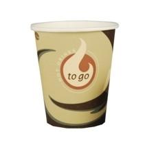 Pappbecher für Kaffeegetränke 0,2l 50 Stück