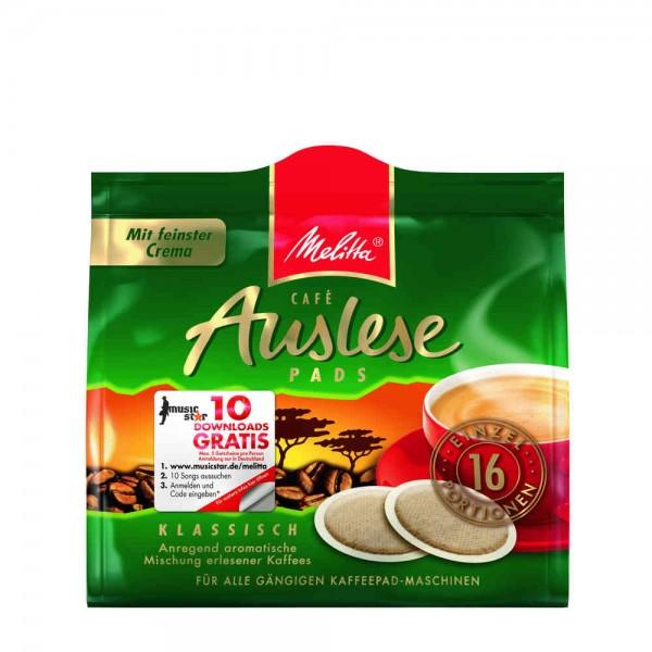 Melitta Kaffeepads Auslese 16 x 1 Stück