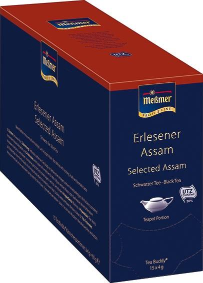 """Meßmer """"Tea Buddy"""" Assam 15 x 4g   CaterPoint.de"""