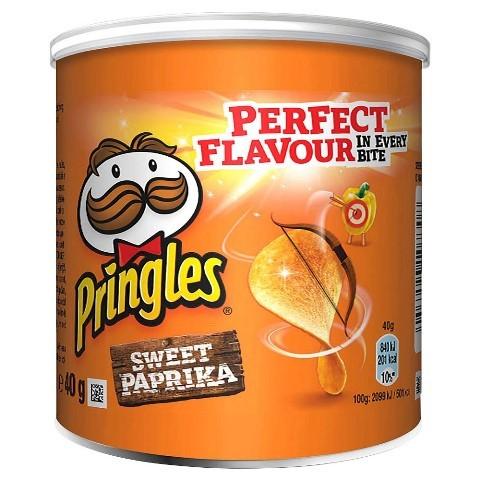 Pringles Sweet Paprika 12x40g | CaterPoint.de