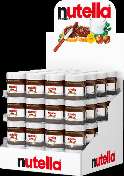 Nutella 64 x 25g per Karton | CaterPoint.de
