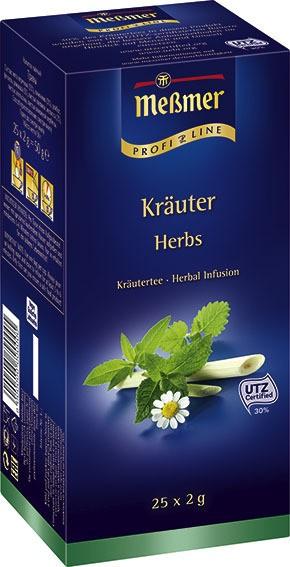 Meßmer ProfiLine 6-Kräuter 25 x 2,0g | CaterPoint.de