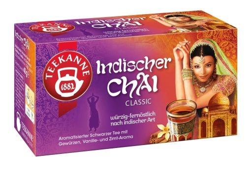 Teekanne Indischer Chai Classic 20 x 2,0g Tassenportion | CaterPoint.de