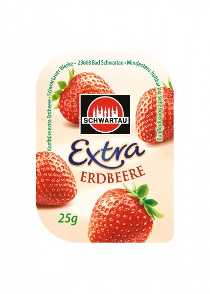 Schwartau Extra Erdbeerkonfitüre