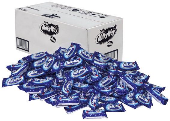 Milky Way Miniriegel 150 x 15,5g im Karton