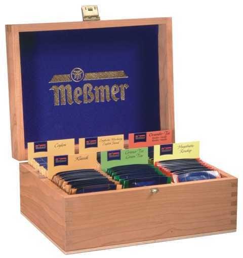 """6er Teekiste """"Meßmer"""""""