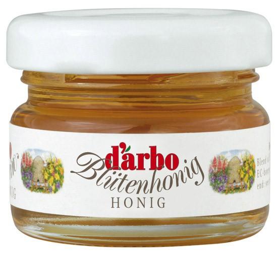 Darbo Blütenhonig 60 Minigläser à 28g